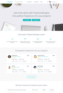 freelance marketplace wordpress theme demo 1
