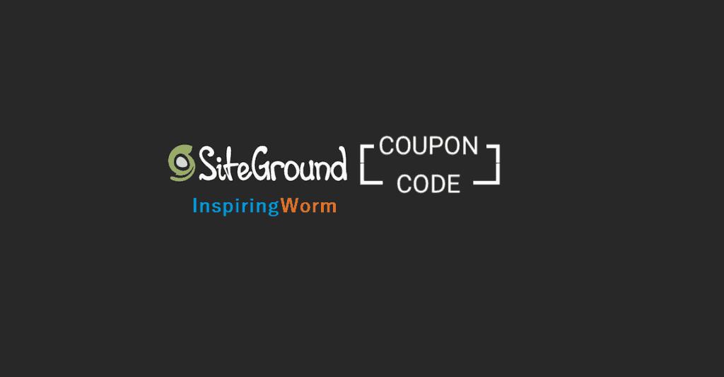 siteground promo code offer