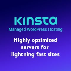 kinsta wordpress hosting banner