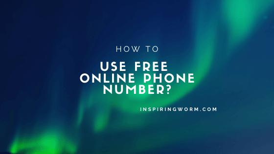 free online phone number