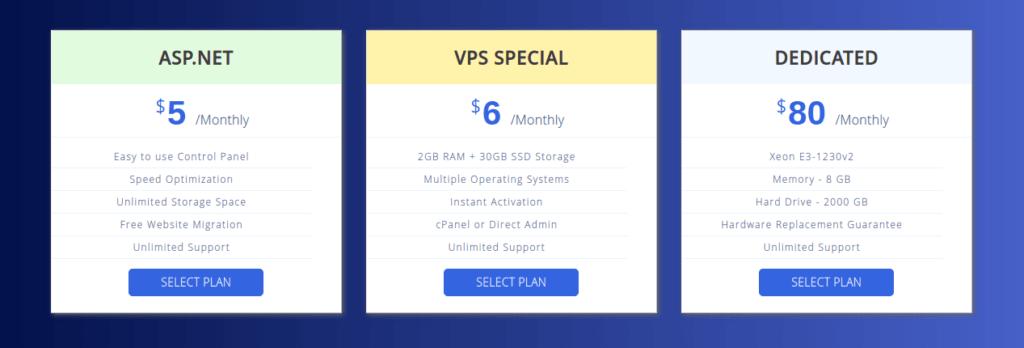 interserver hosting pricing